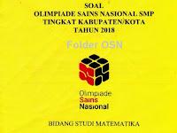 Pembahasan Soal OSK Matematika SMP 2018 OSN KK M R1