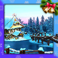 The Frozen Sleigh-A Bridge Over The River Escape