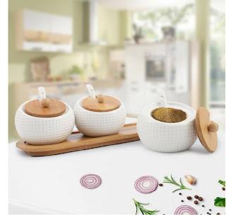 Ceramic Glass Jars