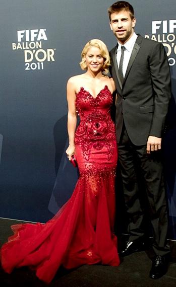Foto de Shakira muy elegante junto a Gerard Piqué