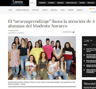 Noticia en Lanza Digital