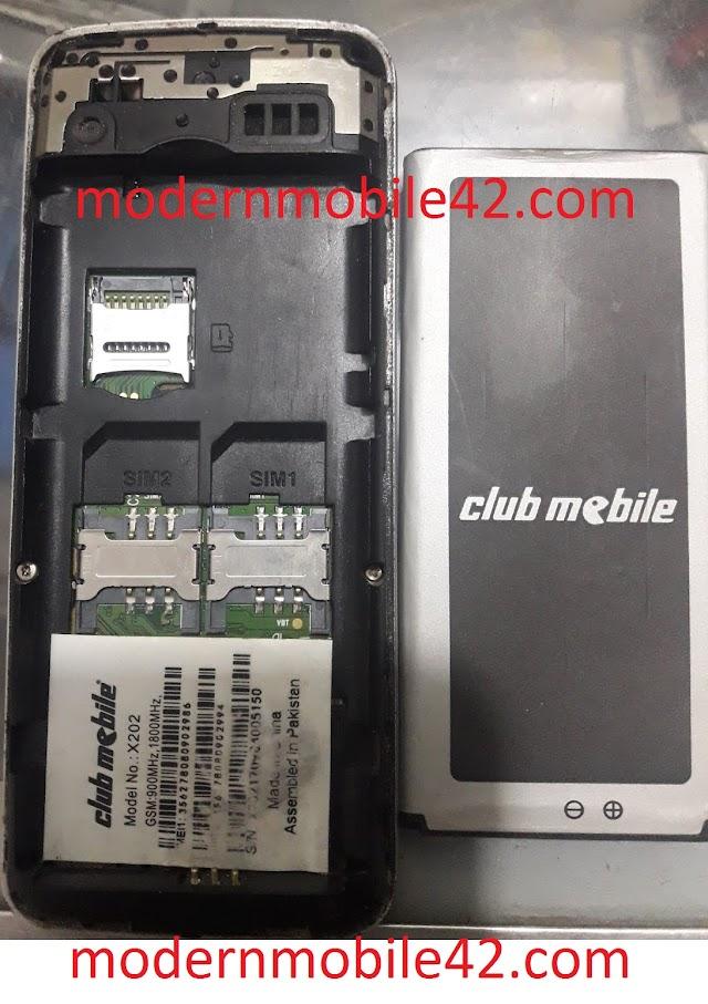 CLUB MOBILE X202 MTK6261 FLASH FILE FREE