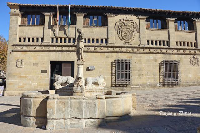Antiguas carnicerías y Fuente de los leones, Baeza. Jaén