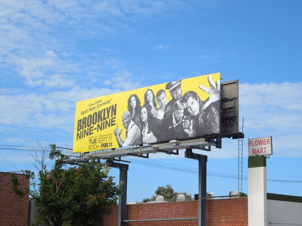 Brooklyn Nine Nine season 1 billboard
