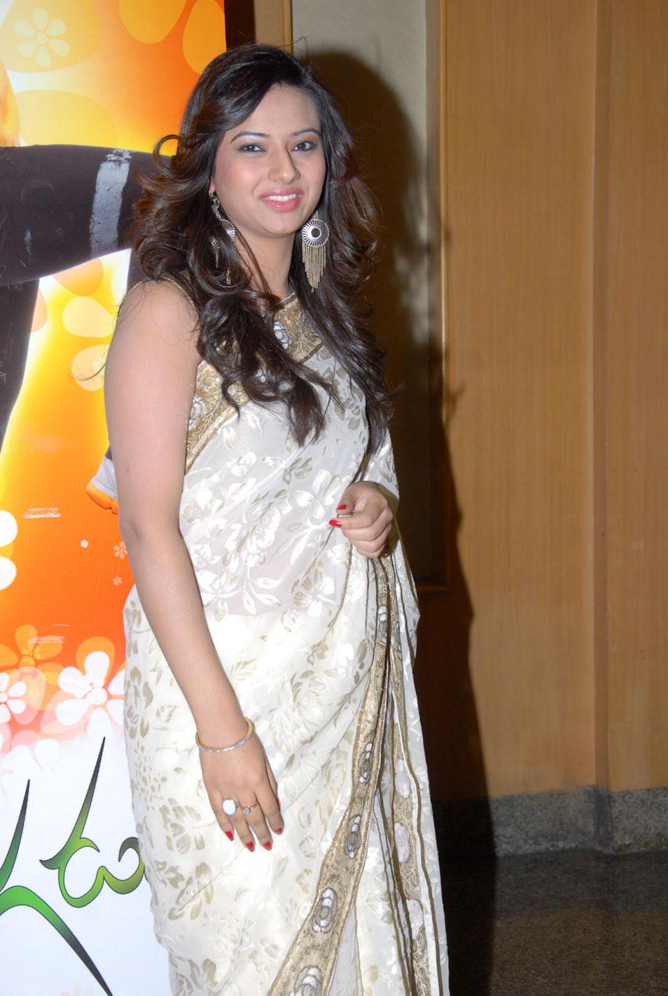 Isha chawla in designer saree