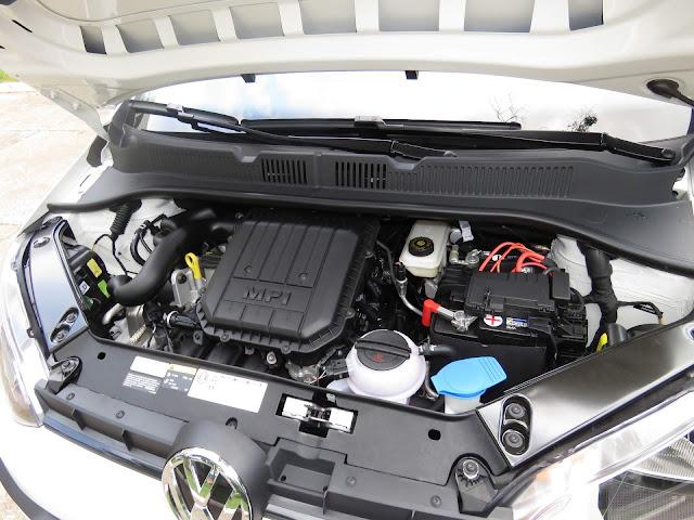 VW Up! 2018 - take Up - motor 1.0 MPI - consumo