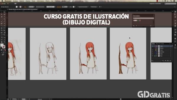 Curso de Ilustración gratis (dibujo digital)