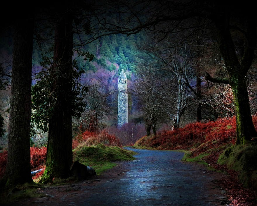 20. Glendalough, County Wicklow, Ireland - 22 Mysterious Forests I'd Love To Get Lost In