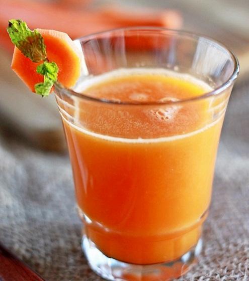 Jus wortel tomat apel untuk kulit glowing
