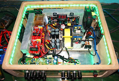 Home Theater Power Amplifier circuit with gainclone