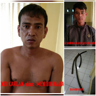 Curi Kabel Tembaga PT Medco, 2 Warga Lais Diringkus Polisi