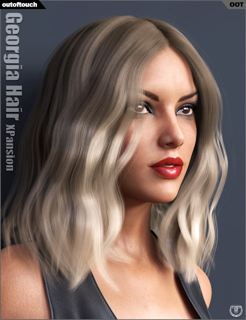 Georgia Hair and OOT Hairblending 2.0 Texture XPansion