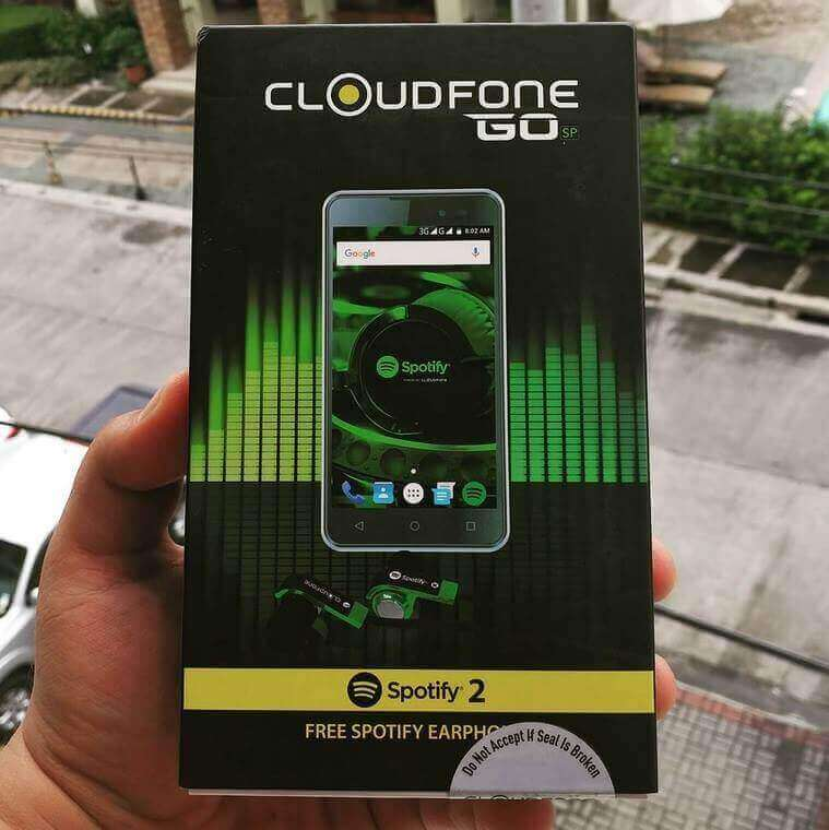 Cloudfone GO Spotify Edition Giveaway