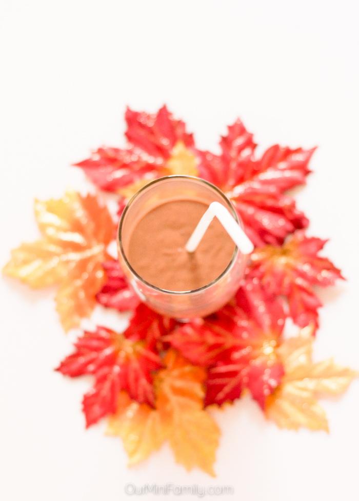 chocolate pumpkin shake