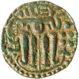 [CHO002] Srilankan Chola Coin - Copper Massa