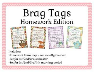 https://www.teacherspayteachers.com/Product/Brag-Tags-Weekly-and-Monthly-Goals-2058325