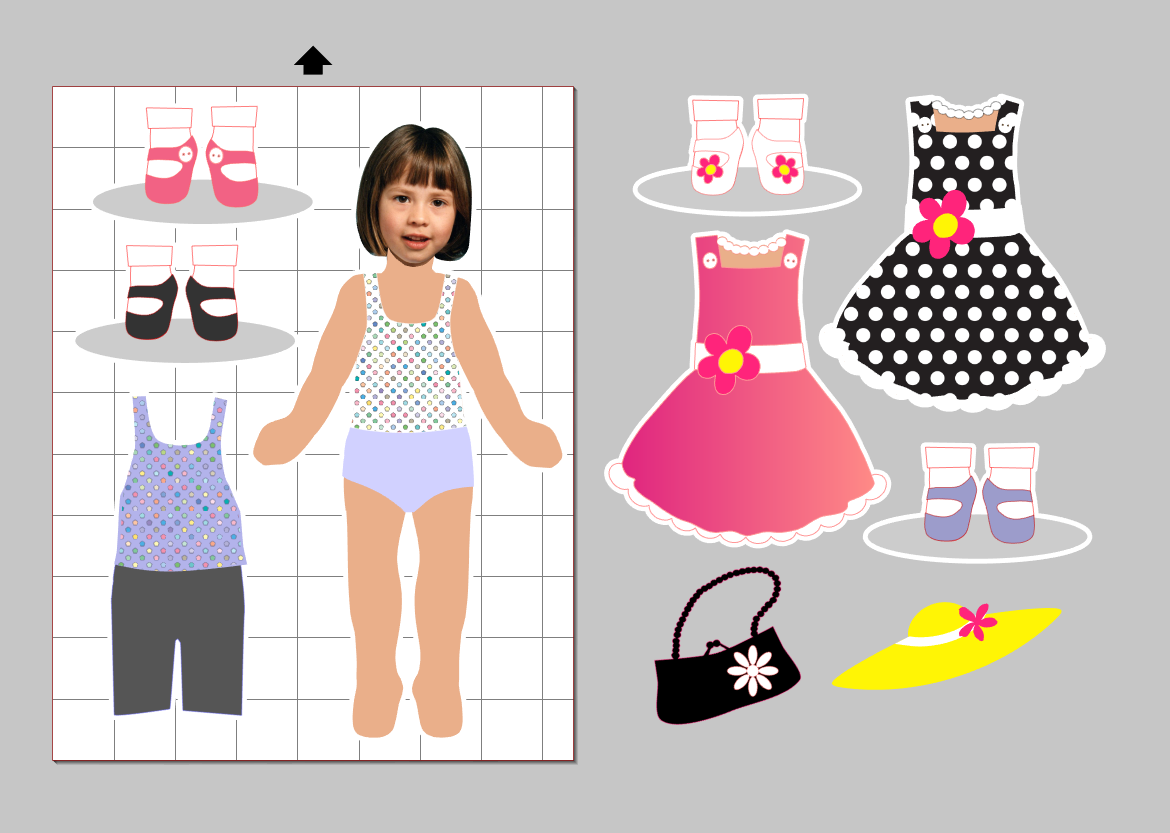 magnetic paper dolls Place magnetic paper in the manual feeder of your ink jet printer double check that the paper is the right way up for your printer open file containing paper doll images, and print, making sure you select the correct paper source for your magnetic paper.