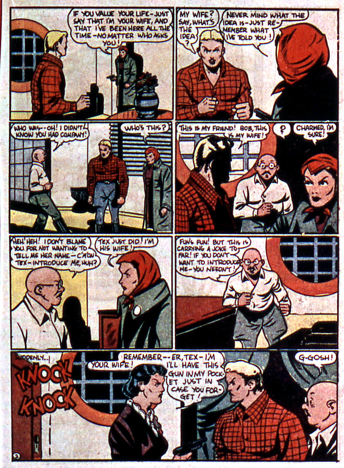 Read online Action Comics (1938) comic -  Issue #5 - 37