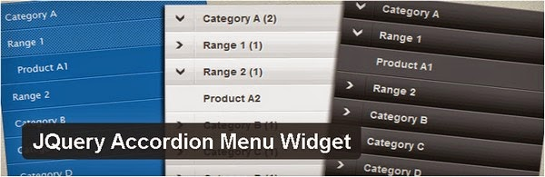 JQuery Accordion Menu Widget Plugin