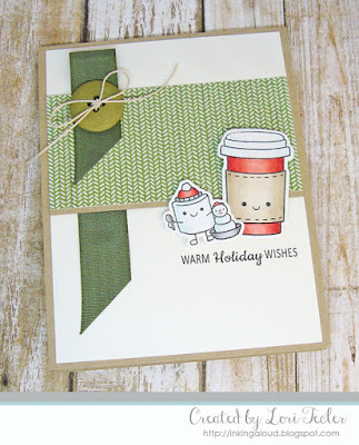 Warm Holiday Wishes card-designed by Lori Tecler/Inking Aloud-stamps and dies from SugarPea Designs
