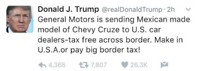 More Tweets From Donald Trump This Time He Comes For Obamacare General Motors Delsublog