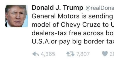 More Tweets From Donald Trump This Time He Comes For