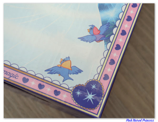 irregular choice disney cinderella box birds close up