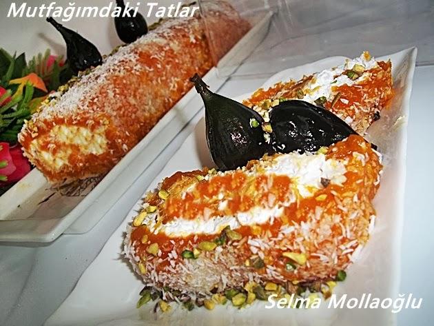 Bal Kabaklı Rulo Pasta Tarifi