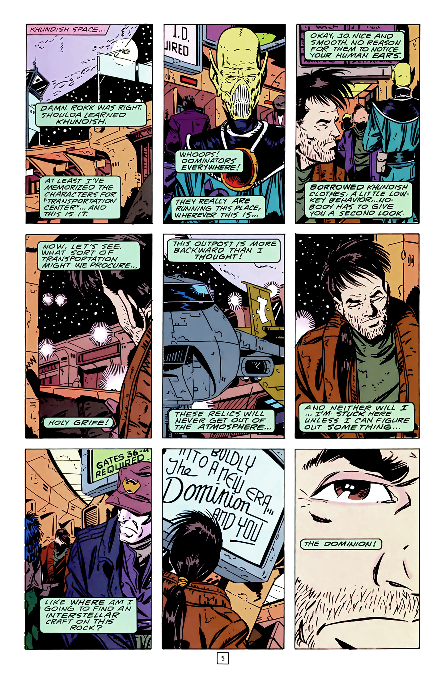 Legion of Super-Heroes (1989) 14 Page 5