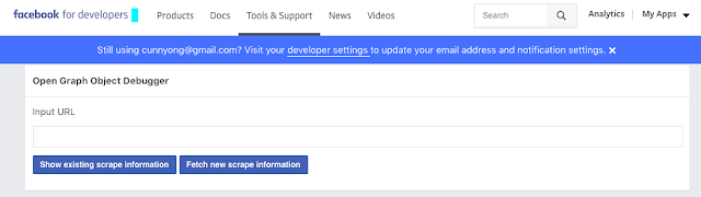 Facebook Developer Debugger