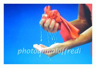 particolare di una nuotatrice,fotografia