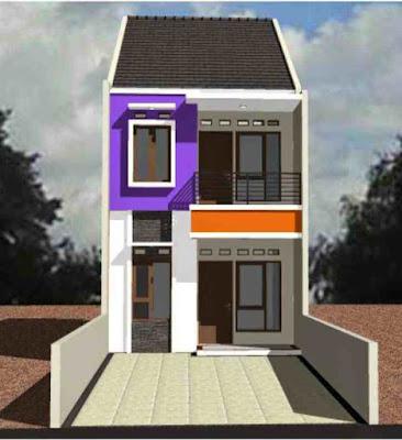 Model Rumah Sederhana 2 Lantai