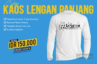 Download Mockup Kaos Lengan Panjang