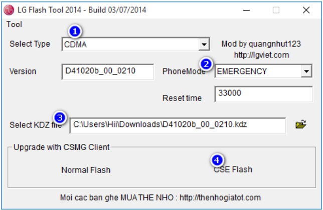 How To Flash KDZ LG With LG FLASHTOOL - Flash KDZ LG | 237