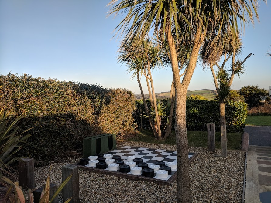 The Sands Resort Cornwall Review | A Family Hotel with Kids Club near Newquay  - giant outdoor games