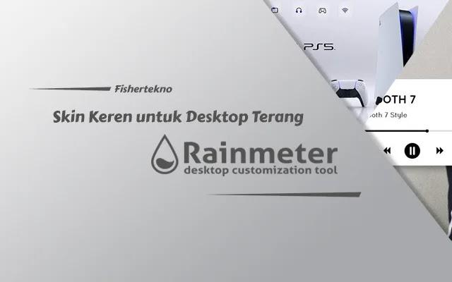 Skin Rainmeter Keren untuk Desktop Terang