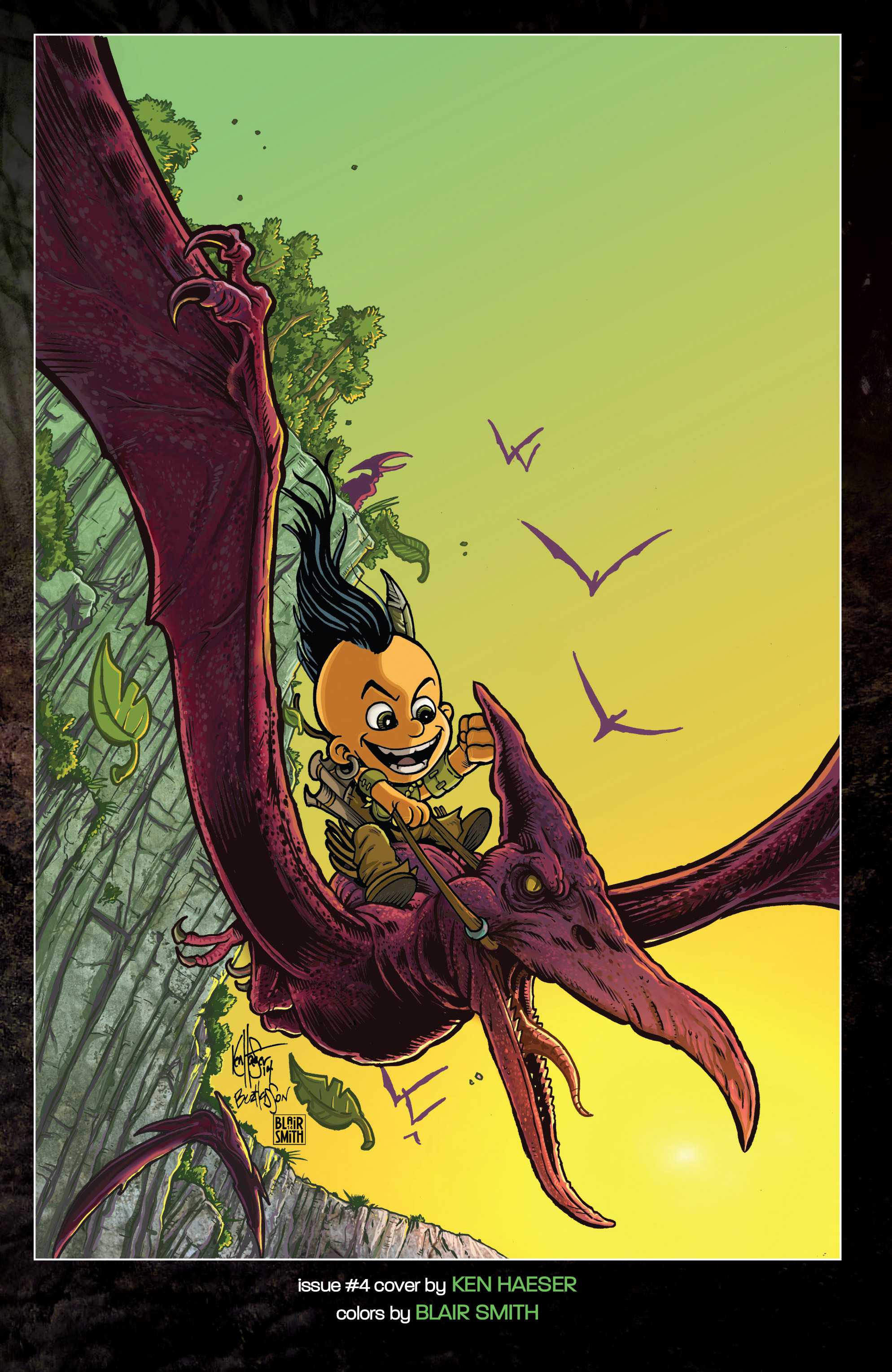 Read online Turok: Dinosaur Hunter (2014) comic -  Issue # _TPB 1 - 148