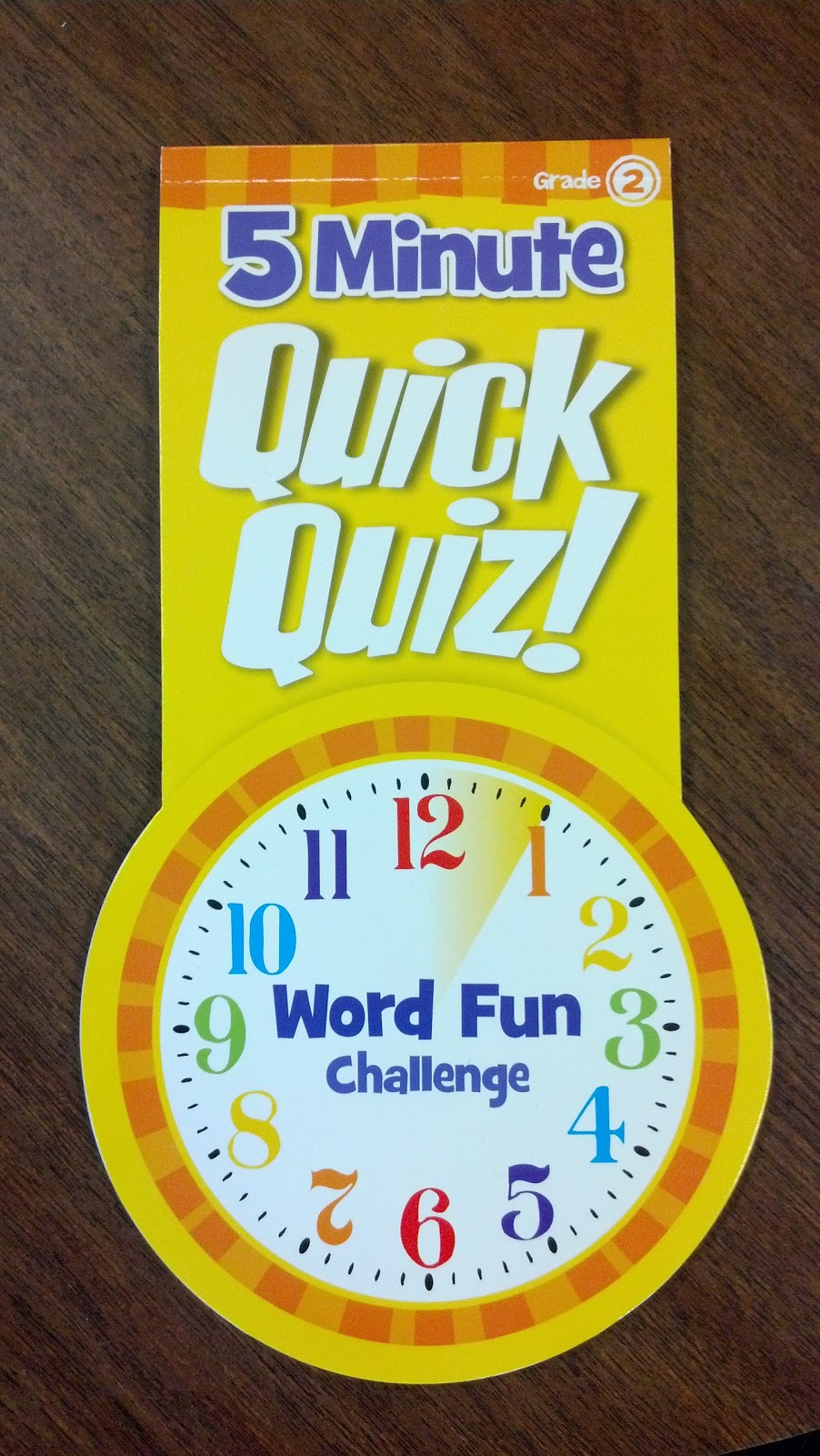 Schoolhouse Talk Good Finds 5 Minute Quick Quiz Word Fun