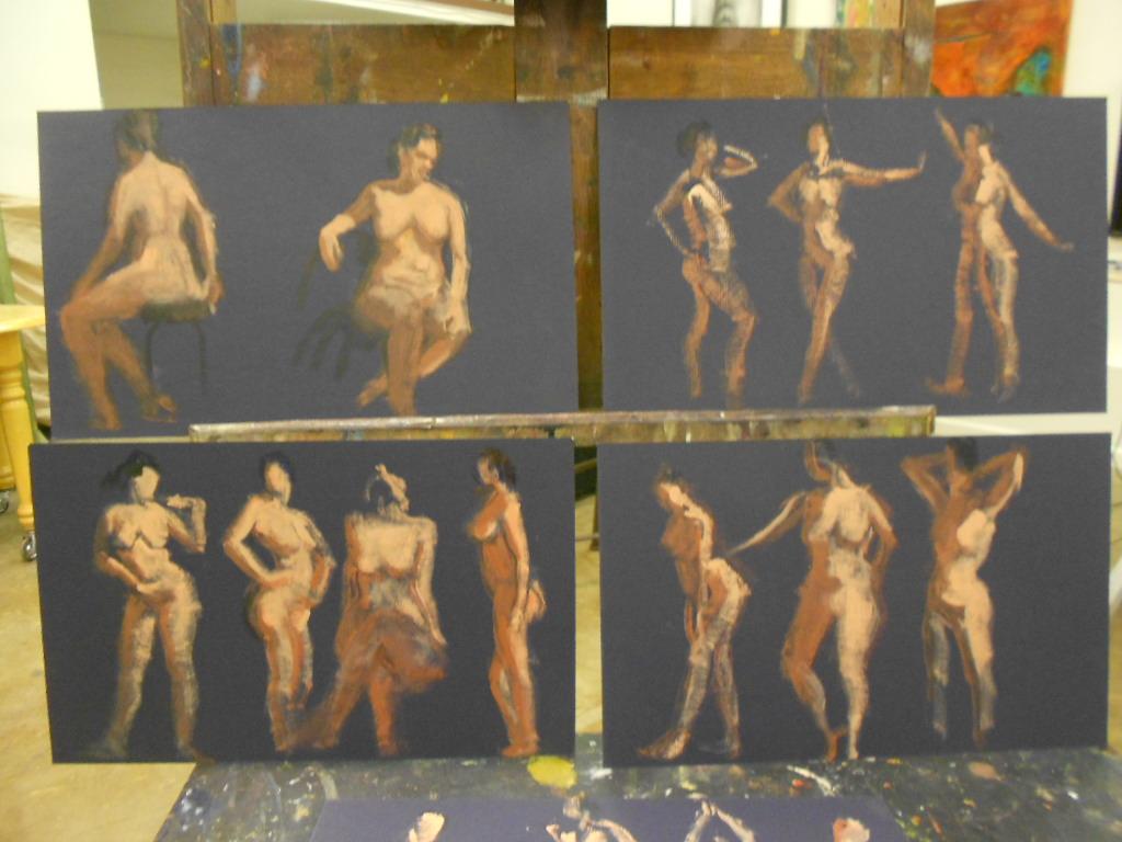 Figure Drawing Painting Open Studio