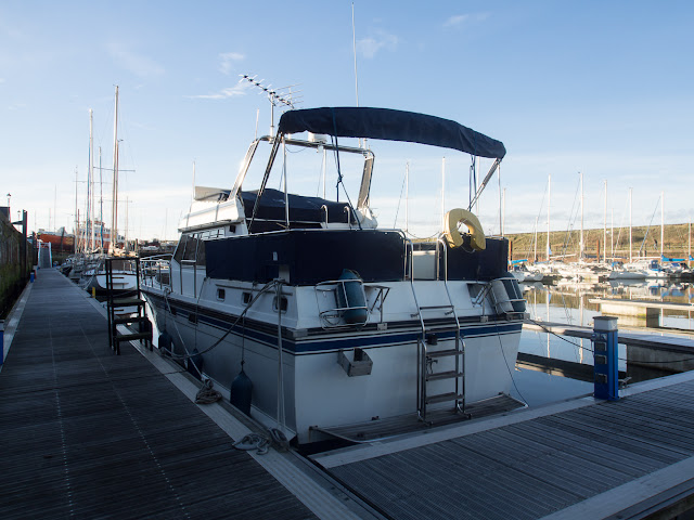 A large aft deck provides plenty of outdoor space