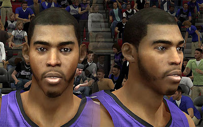 NBA 2K13 Jason Thompson Cyberface Patch