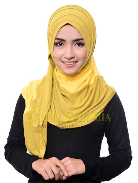 natasha 1 muka cotton rekaan tudung terbaru fesyen hari raya 2015