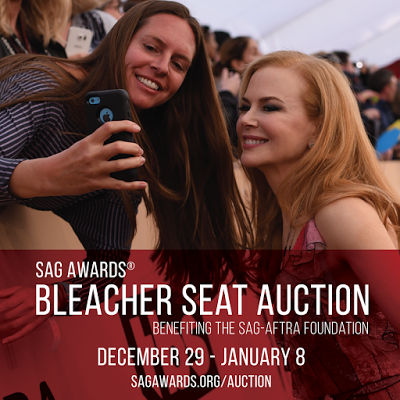 SAG Awards Red Carpet Bleacher Seats Up for Auction Through January 8