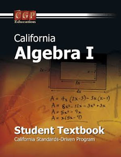 CALIFORNIA ALGEBRA-I STUDENT TEXT BOOK