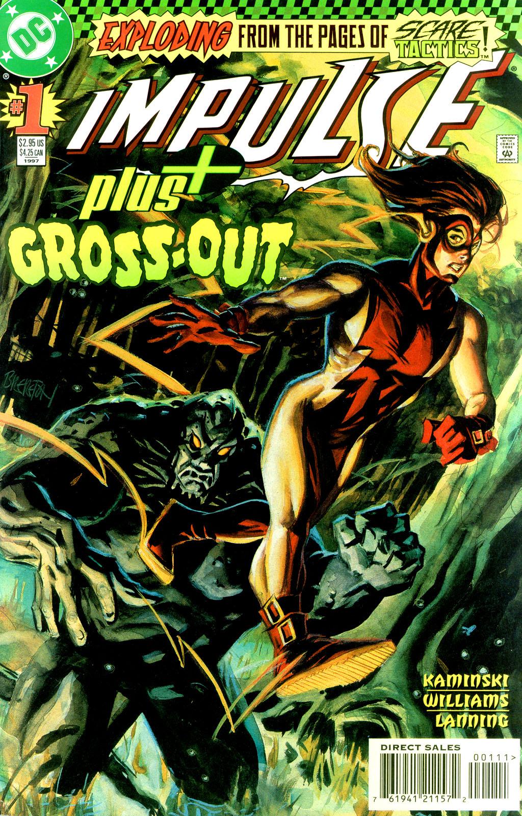 Read online Impulse Plus comic -  Issue # Full - 1