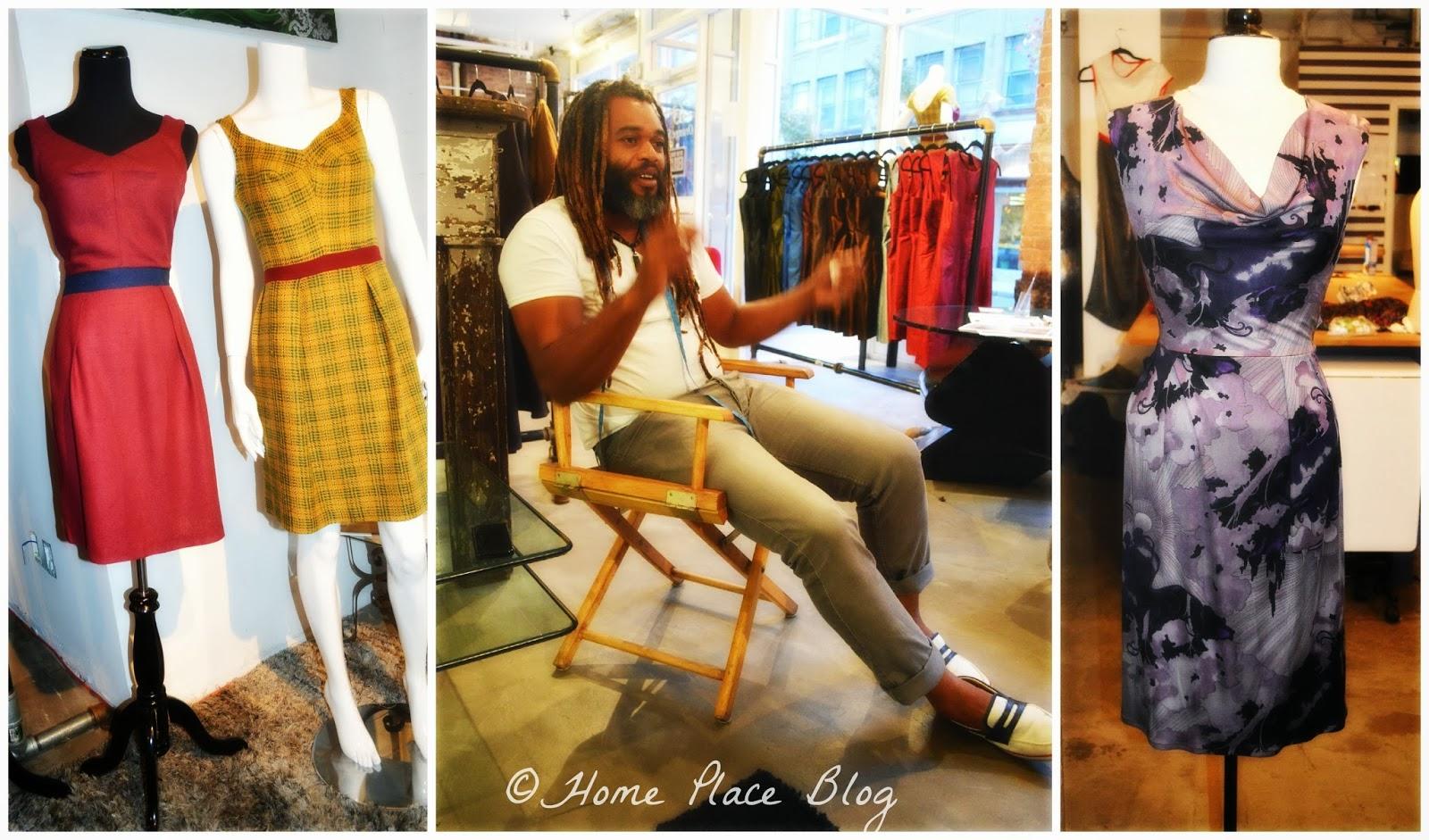 Home Place Spotlight On New Haven Ct Fashion Designer Neville Wisdom