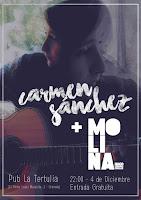 Concierto de Carmen Sánchez y Molina Molina en La Tertúlia