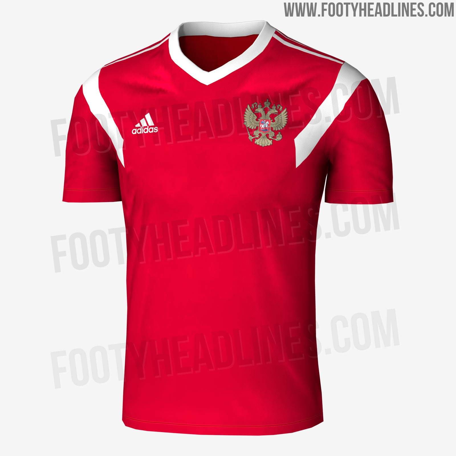 World Cup 2018 Jersey Leaked