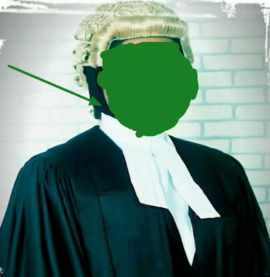 muslim lady wears hijab under wig at call to bar ceremony banned