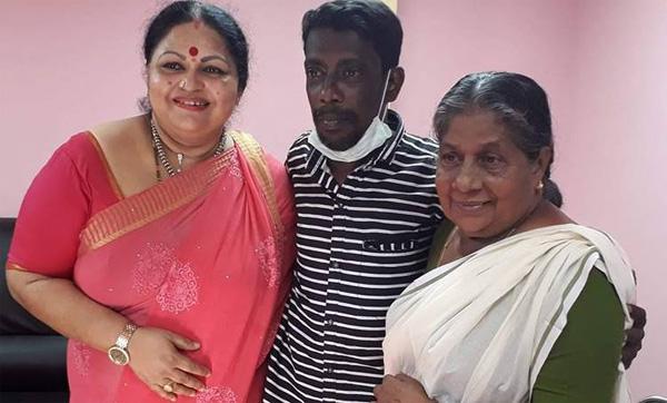 Actor Ponnamma Babu comes to aid of actor Sethulakshmi, Cinema, Entertainment, Kochi, Facebook, News, Actress, Treatment, Hospital, Kerala.